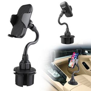 Universal Adjustable Long Arm Rotatable Cup Holder Phone Car Mount - MyPhoneCase.com