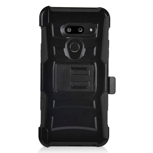Advanced Armor Holster LG G8 ThinQ Case - Black - MyPhoneCase.com