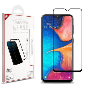 Screen Protector for Galaxy A20 (2019) - Full Coverage Tempered Glass - MyPhoneCase.com