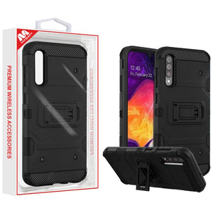 MyBat Military Grade Certified Storm Tank Galaxy A50 (2019) Case - Black