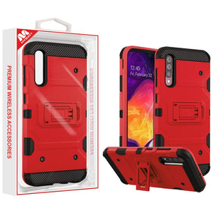Storm Tank Hybrid Galaxy A50 (2019) Case - Red - MyPhoneCase.com