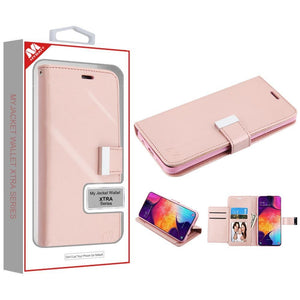 MyJacket Xtra Series Galaxy A50 (2019) Wallet Case - Rose Gold - MyPhoneCase.com