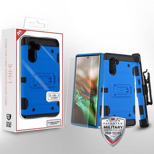 Storm Tank Hybrid Galaxy Note 10 Case Holster Combo - Blue - MyPhoneCase.com