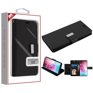 MyJacket Xtra Wallet Galaxy Note 10+ Plus Case - Black - MyPhoneCase.com