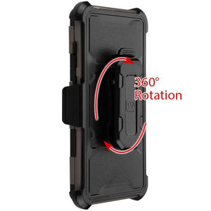 Storm Tank 3-in-1 Galaxy S10 Case Holster Combo - Dark Grey/Black - MyPhoneCase.com