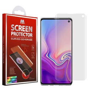 MYBAT Screen Protector for Galaxy S10 - Curved Coverage - MyPhoneCase.com