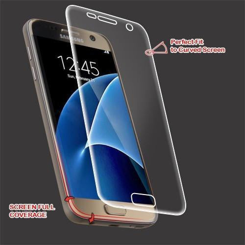 Mybat Screen Protector For Samsung Galaxy S7 - Curved Coverage - Myphonecase.com