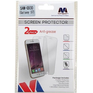 MYBAT Screen Protector for Samsung Galaxy S7 - Anti-grease (2-pack) - MyPhoneCase.com