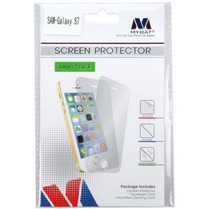 MYBAT Screen Protector for Samsung Galaxy S7 - Clear (Twin Pack) - MyPhoneCase.com