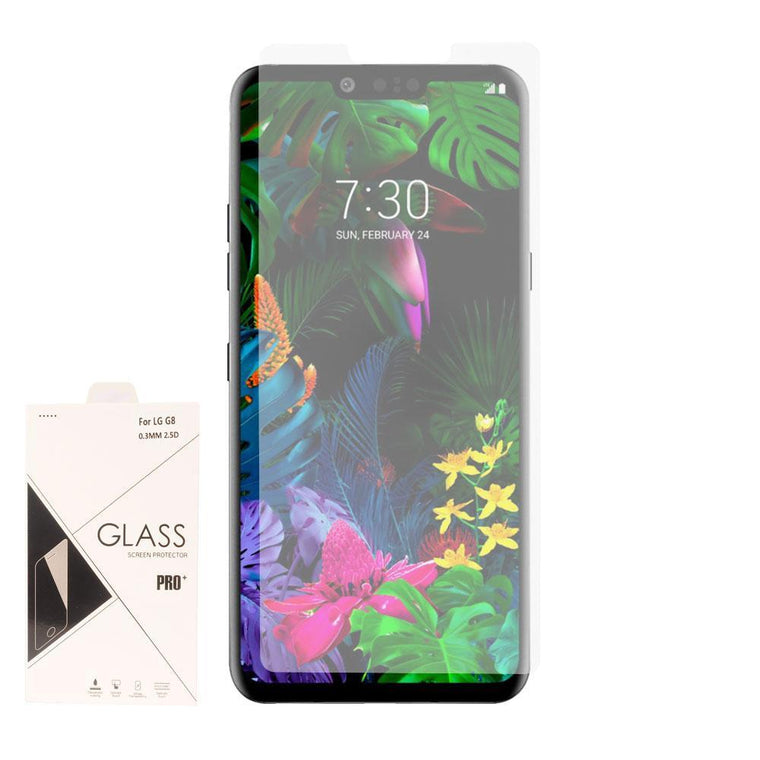 Screen Protector for LG G8 ThinQ - Tempered Glass (Clear) - MPC - MyPhoneCase.com