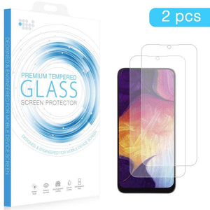 DW Screen Protector for Galaxy A20 (2019) - Tempered Glass (2-pack) - MyPhoneCase.com