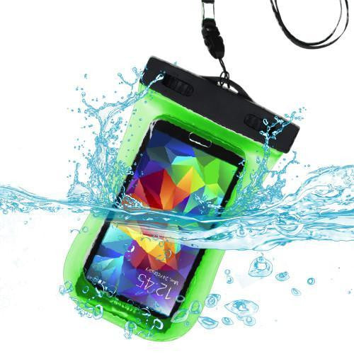 MYBAT Universal Waterproof Bag with Lanyard and Armband - Green - MyPhoneCase.com