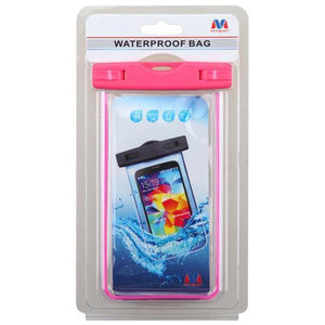 MYBAT Universal Waterproof Cellphone Bag (Glow-in-Dark) - Hot Pink - MyPhoneCase.com