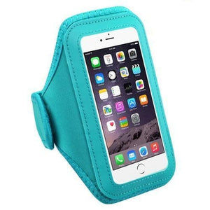 MYBAT Universal Vertical Pouch Sport Armband - Baby Blue - MyPhoneCase.com