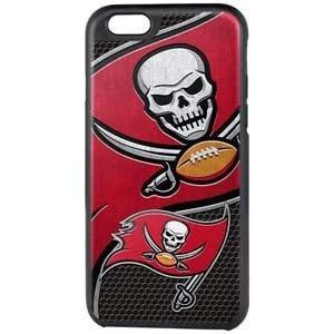 NFL Licensed Rugged Cover iPhone 6/6S Case - Tampa Bay Buccaneers - MyPhoneCase.com