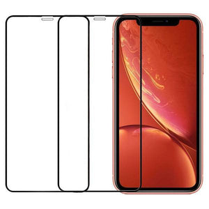 Full Coverage Tempered Glass Screen Protector iPhone XR (2 Pack) - MyPhoneCase.com