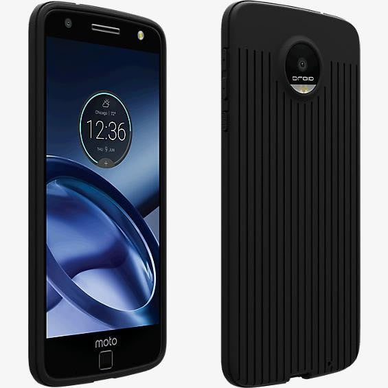 Verizon OEM Matte Silicone Case for Moto Z Droid - Black - MyPhoneCase.com