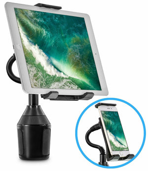 Universal Heavy Duty Car Cup Holder Phone Mount - MyPhoneCase.com