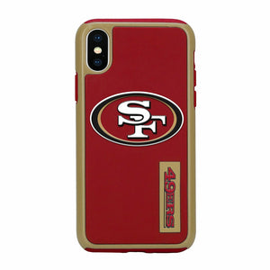 Official NFL Shock-Proof iPhone X / Xs Case - San Francisco 49ers