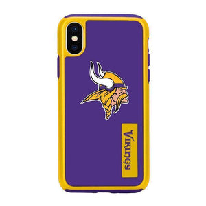 Official NFL Shock-Proof iPhone X / Xs Case - Minnesota Vikings - MyPhoneCase.com