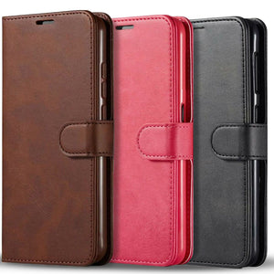 Flip Stand Leather Jacket Galaxy A21 (2020) Wallet Case - MyPhoneCase.com