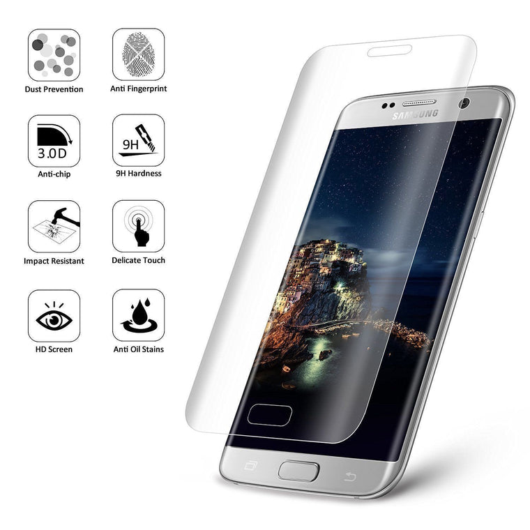 MPC Screen Protector for Galaxy S7 Edge - Full Coverage - MPC - MyPhoneCase.com
