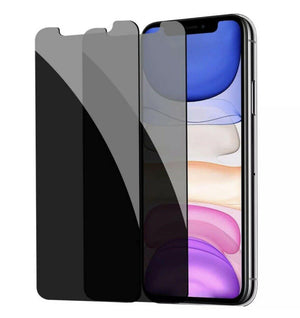 Anti Spy Privacy Tempered Glass Screen Protector iPhone 11 Pro [2 Pack] - MyPhoneCase.com