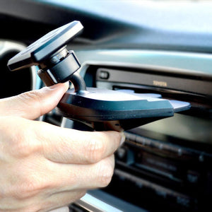 CD Magnetic Cradle-less Smartphone Cellphone Car Mount - MyPhoneCase.com