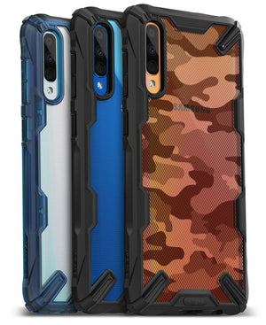 Ringke [FUSION-X] Clear Shockproof Galaxy A50 (2019) Case - MyPhoneCase.com