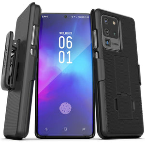 OEM Fitted Kickstand Galaxy S20 Ultra Case Holster Combo - MyPhoneCase.com
