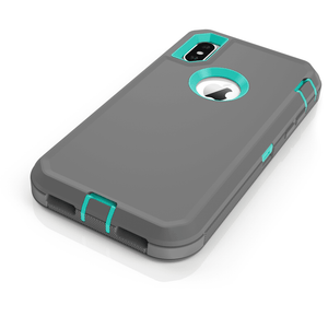 MPC Rugged Shockproof Shell iPhone X / Xs Case - Black/Black - MyPhoneCase.com