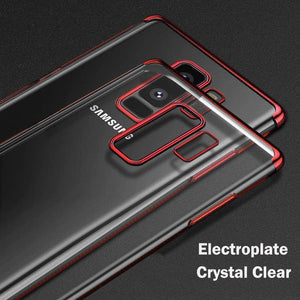 MPC Electroplating Crystal Hybrid Galaxy S9+ Plus Case - Red - MyPhoneCase.com