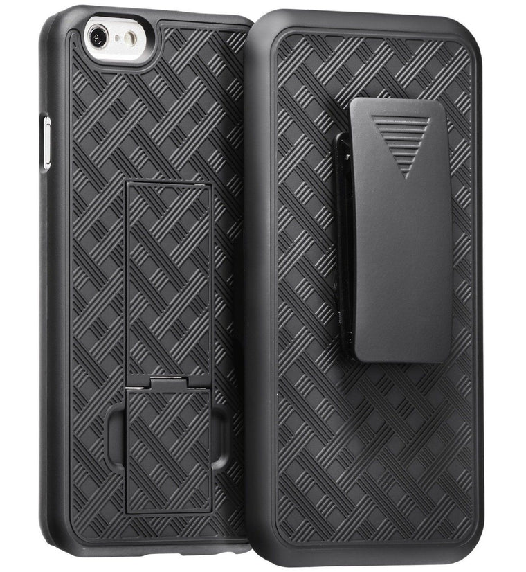 Verizon Fitted Shell Iphone 6/6S Plus (5.5) Case Holster - Myphonecase.com