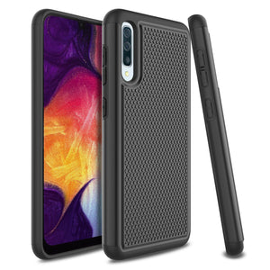 Grippy Shockproof Galaxy A50 (2019) Case - Black - MyPhoneCase.com