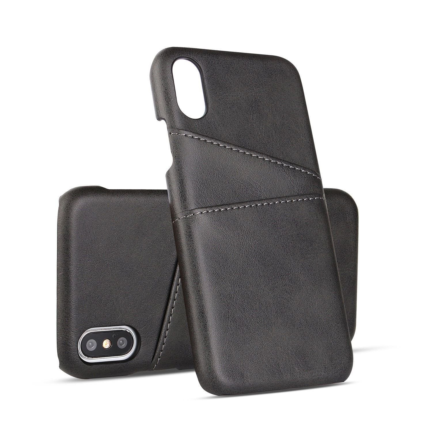 MPC Slim Leather Back Cover Wallet iPhone X / Xs Case