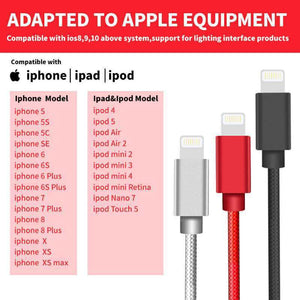SYNC/Charging CABLE for Apple Lightning Connector (8 pin) - 3 FT
