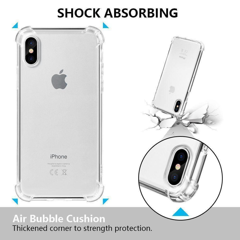 buy popular 0f213 0819b MPC iPhone X / Xs Crystal Bumper Anti-Slip Shockproof Case - Clear