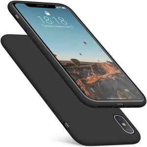 "Slim Fit Ultra Thin Cover iPhone XS MAX (6.5"") Case - Matte Black - MyPhoneCase.com"