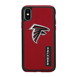 Official NFL Shock-Proof iPhone X / Xs Case - Atlanta Falcons - MyPhoneCase.com