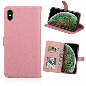 MYBAT Flip Stand Leather iPhone 6/6S Wallet Case - Pink
