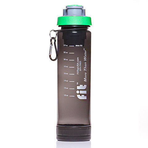 FIT Top Filtered Water Bottle 24oz Smoke Green