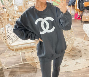 A Little Bit Dramatic Cropped Tee