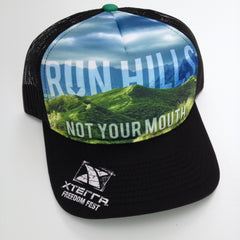 Run Hills Snapback Trucker Hat (Xterra Freedom Fest)