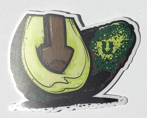 Uvocado Sticker