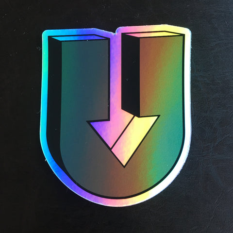 3DU Holographic sticker