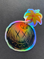 SFR Holographic sticker