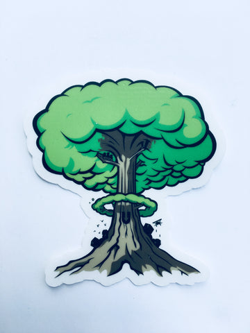 Atom Tree Sticker