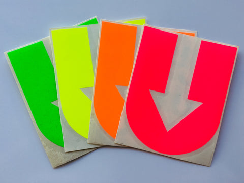 Fluorescent Stickers