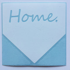 Home home plate sticker