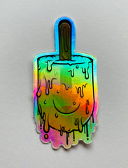 Upopsicle holographic Sticker